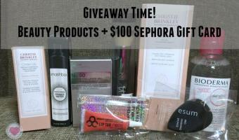 Let's Celebrate My Milestone with a Giveaway