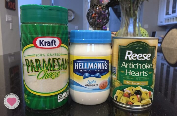 spinach and artichoke dip ingredients