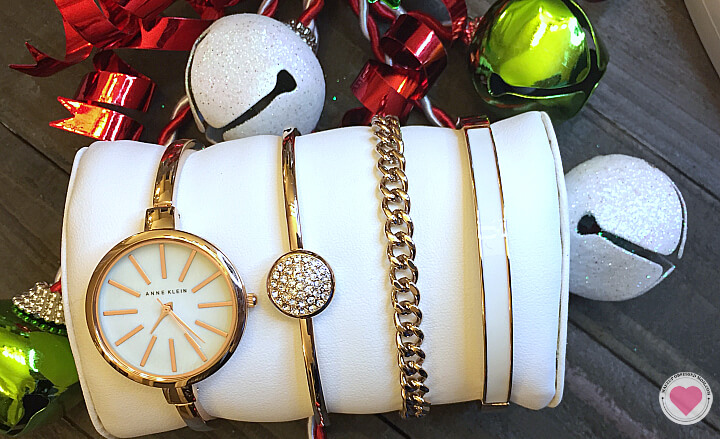 Anne Klein rose gold watch