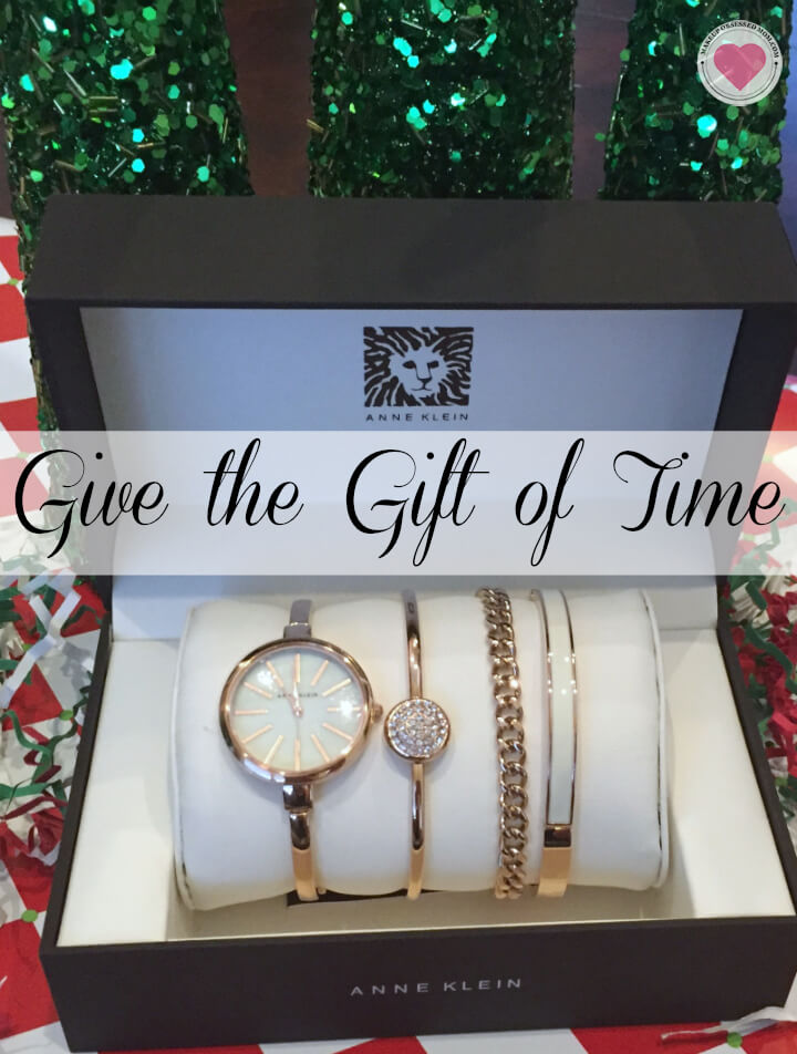 Anne Klein Boxed watch sets for gifts