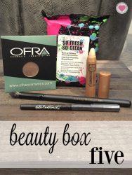 December Beauty Box 5 contents