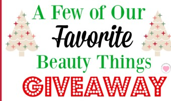 favorite beauty things giveaway