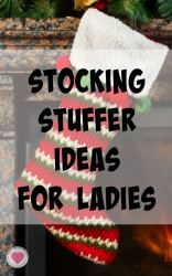 stocking stuffer ideas for ladies