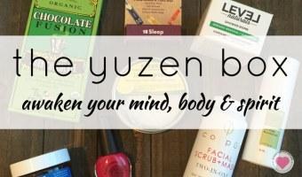 The Winter 2016 Yuzen Box