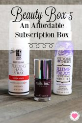 affordable beauty subscription box
