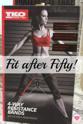 fit after fifty with resistance bands