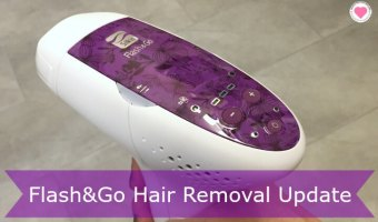 Flash&Go Home Hair Removal Device Update