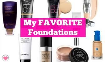2015 Beauty Favorites Wrap Up – Foundation