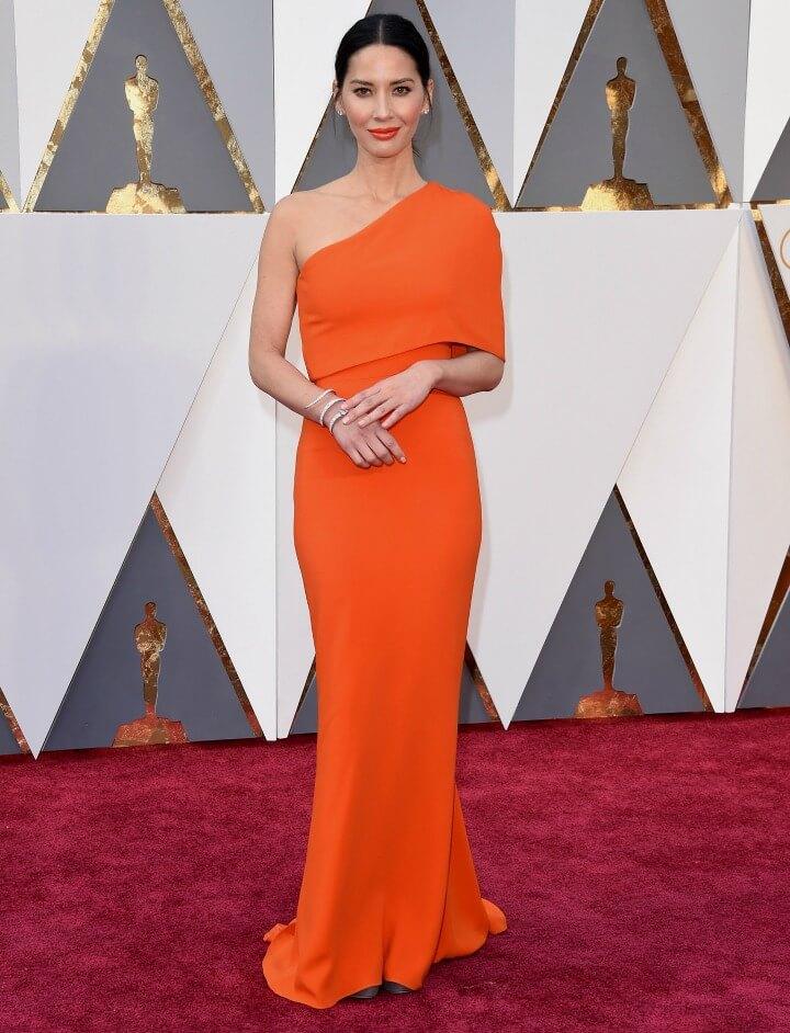 Olivia Munn red carpet dress