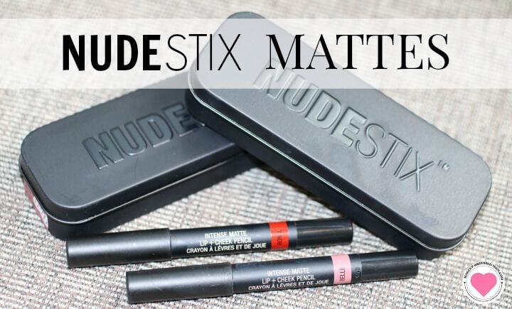 matte lip and cheek pencils