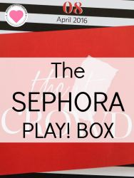 Sephora monthly beauty box