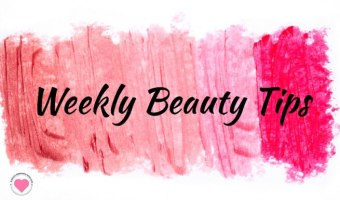 Weekly Beauty Tips and Giveaways