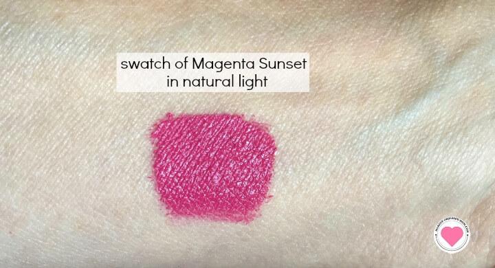 Magenta Sunset swatch