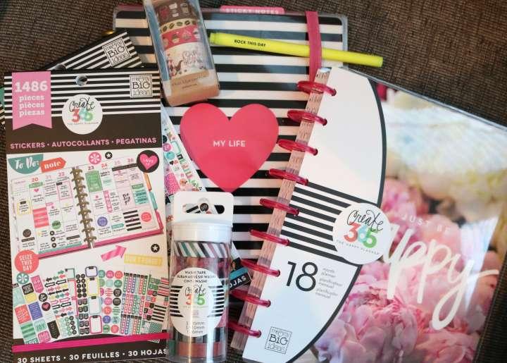 happy planner supplies