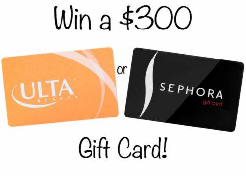 beauty gift card giveaway
