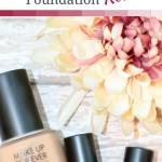 water blend foundation review