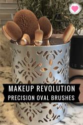Makeup Revolution Precision Oval Brushes