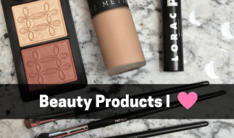 Beauty Products that I'm Loving + Giveaway Reminder