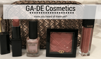 GA-DE Cosmetics – A New Line I'm Trying Out