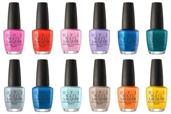 OPI Figo Spring collection