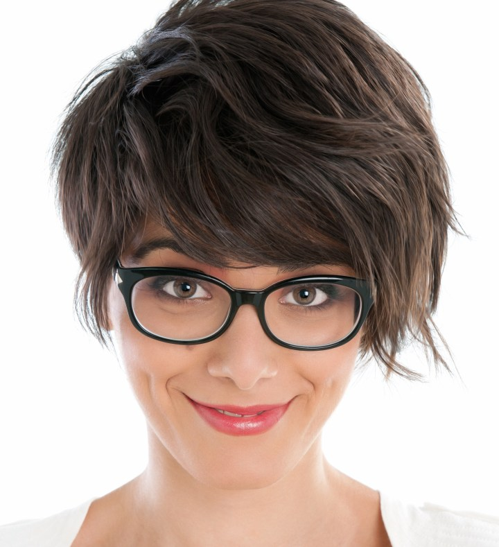 makeup for ladies with glasses