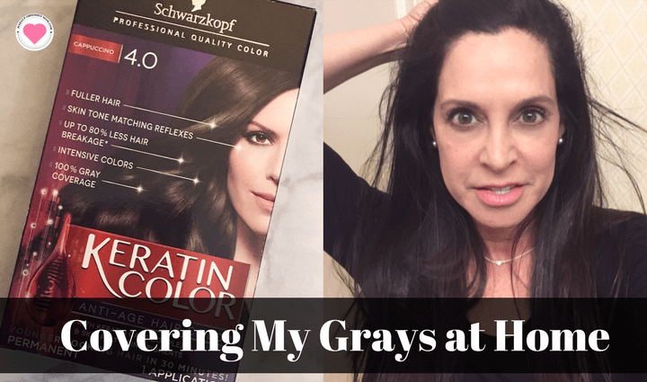 anti-aging hair color