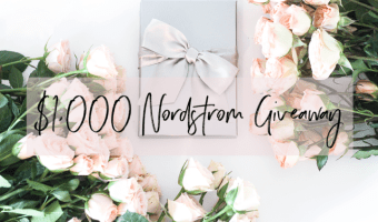 Memorial Day Salute + Nordstrom Gift Card Giveaway