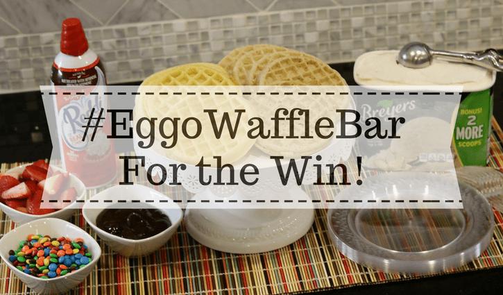 My eggo waffle bar