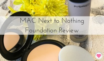 MAC Next to Nothing Foundation