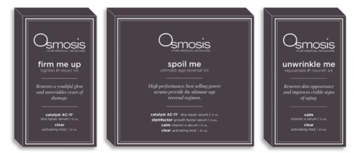 Osmosis Pur Medical skincare kits
