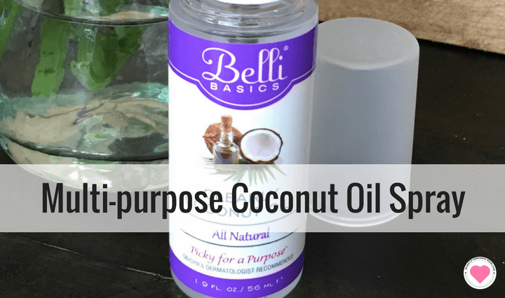 Spray On Coconut Oil from Belli Beauty
