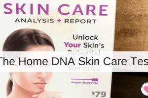 Home dna skin care test kit