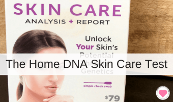 A Home DNA Skin Care Test with Results
