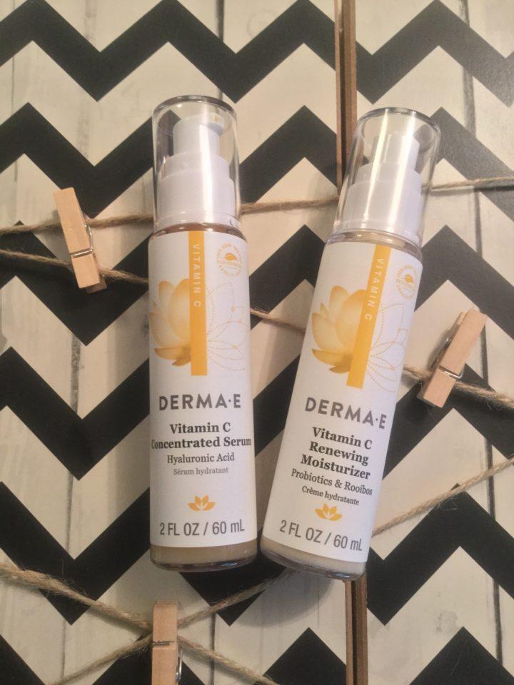 DermaE vitamin c skincare