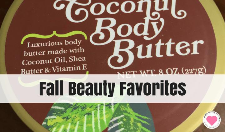 Fall beauty favorites
