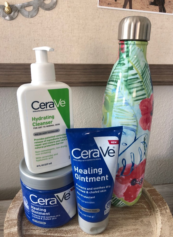 CereVe skincare for dry skin