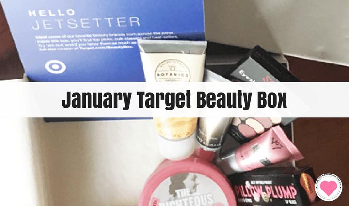 January Target Beauty Box