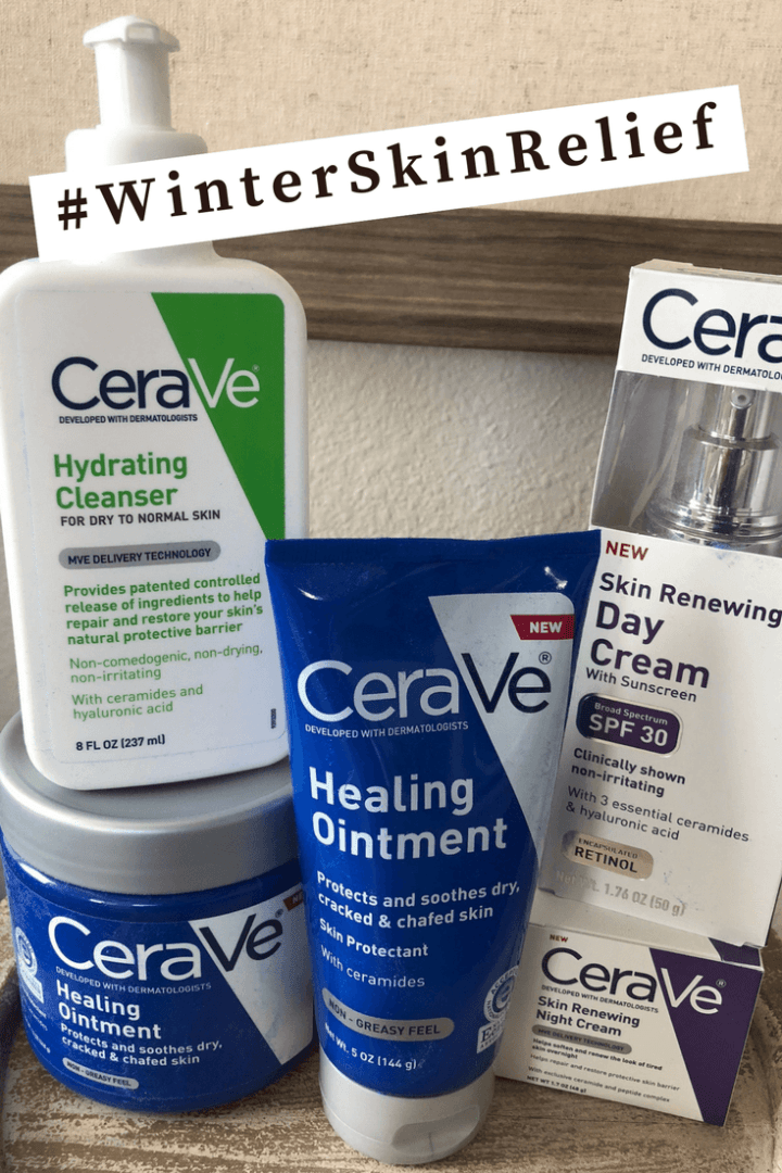 #winterskinrelief with CeraVe