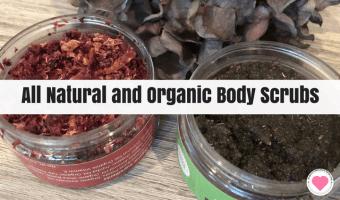 All-Natural Handmade Body Scrubs