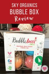 Sky Organics Bubble Box review