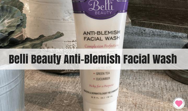 Belli Beauty Anti-Blemish Facial Wash