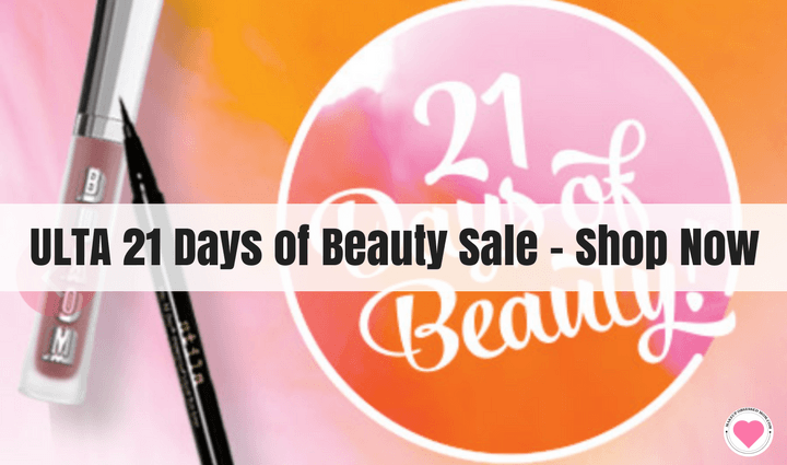 Ulta 21 Days of Beauty Sale spring 2018