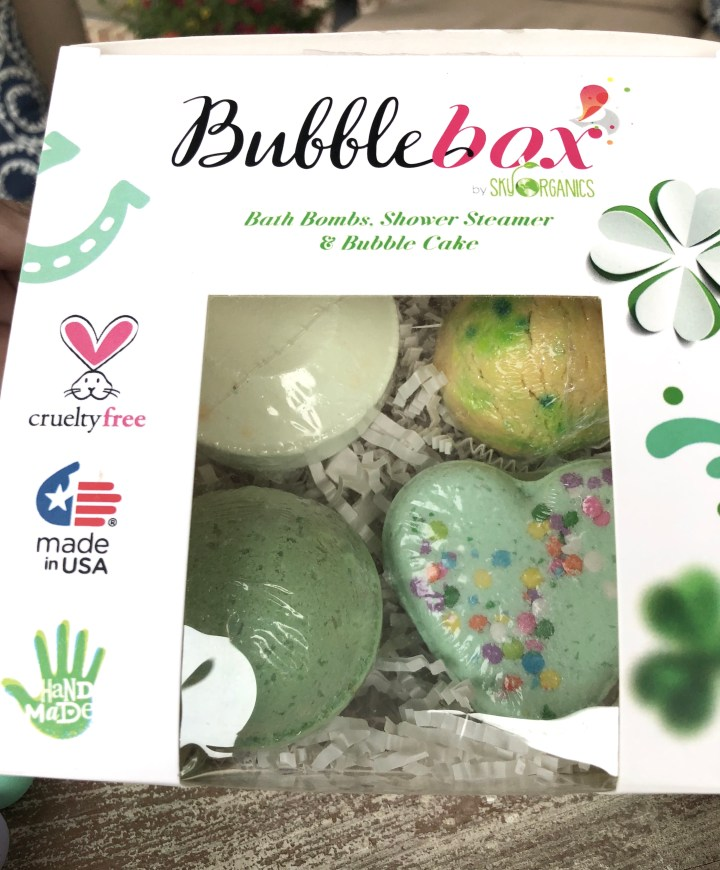 March 2018 Bubble Box