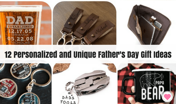 personalized and unique Father's Day gifts