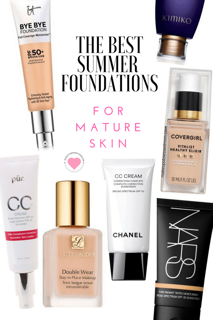 My Favorite Summer Foundations for Mature Skin