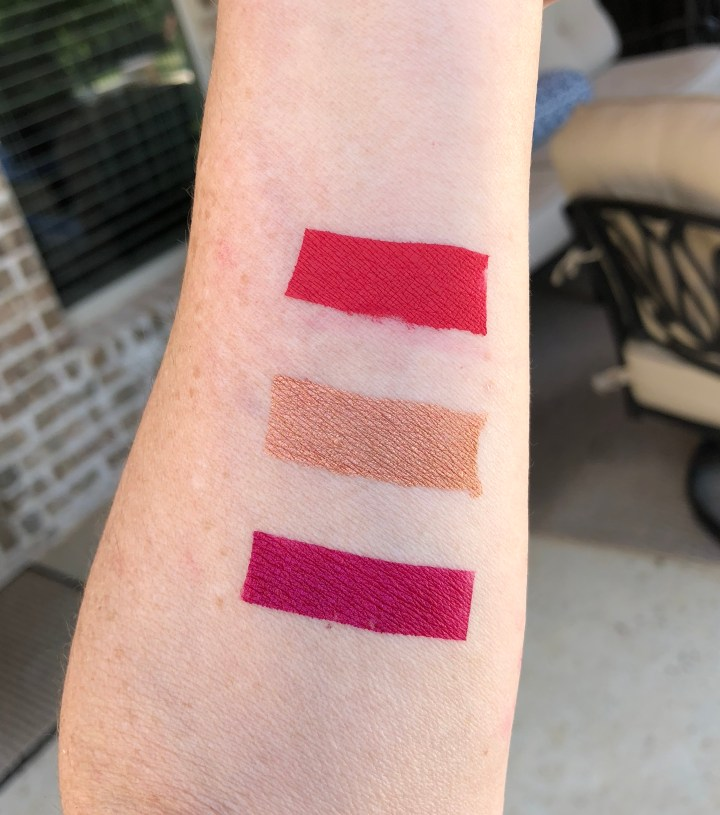 april kiss me live glam lipstick swatches