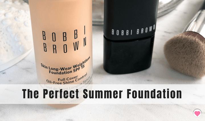 Bobbi Brown foundation review