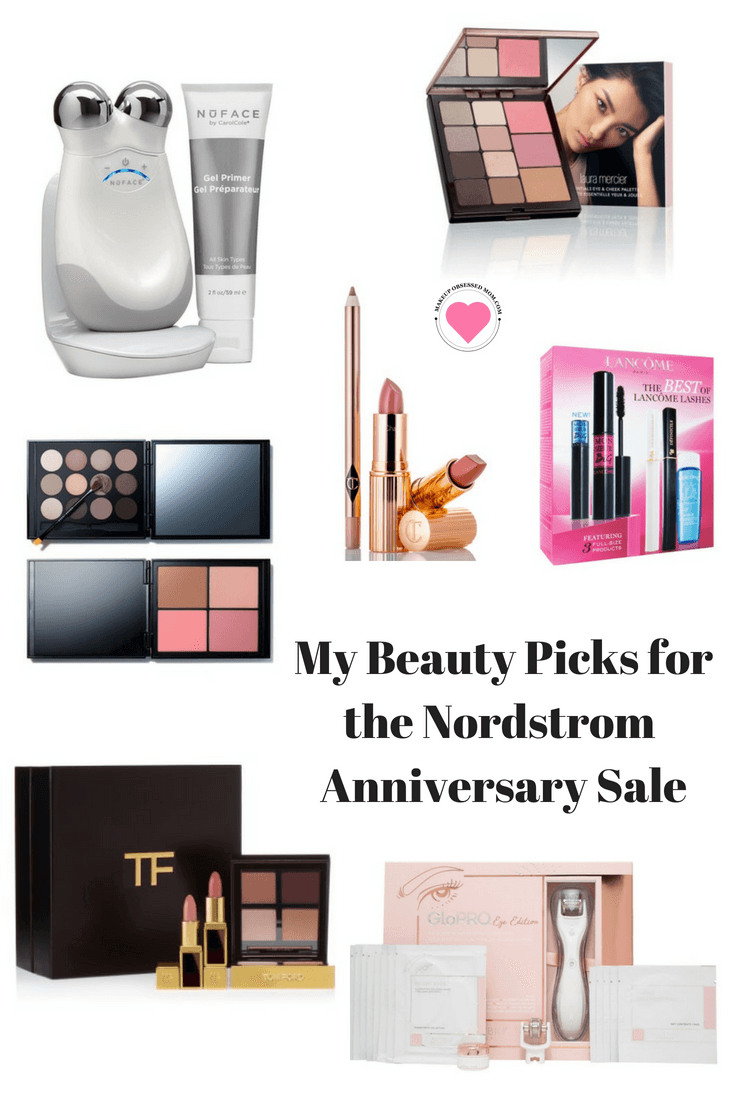 These are my beauty picks for the Nordstrom Anniversary Sale 2018. See what I like best for more mature ladies. #Nordstromanniversarysale #beauty