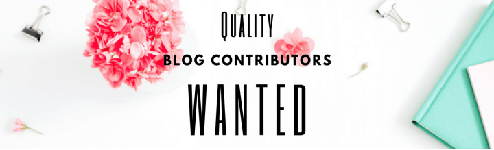 blog contributors wanted