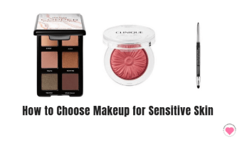 how to choose makeup for sensitive skin